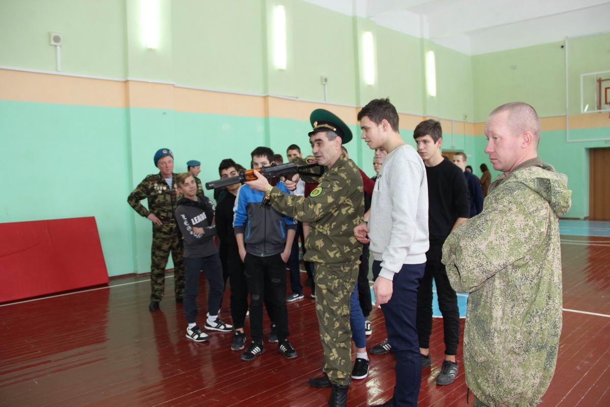 День Героя Отечества в школе - интернате № 3