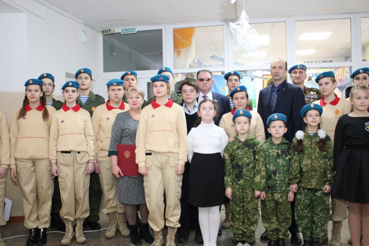 110 лет со дня рождения легендарного командующего ВДВ В.Ф. Маргелова отметили юнармейцы школы №27 г. Симферополя, которая первой в России удостоилась чести носить его имя