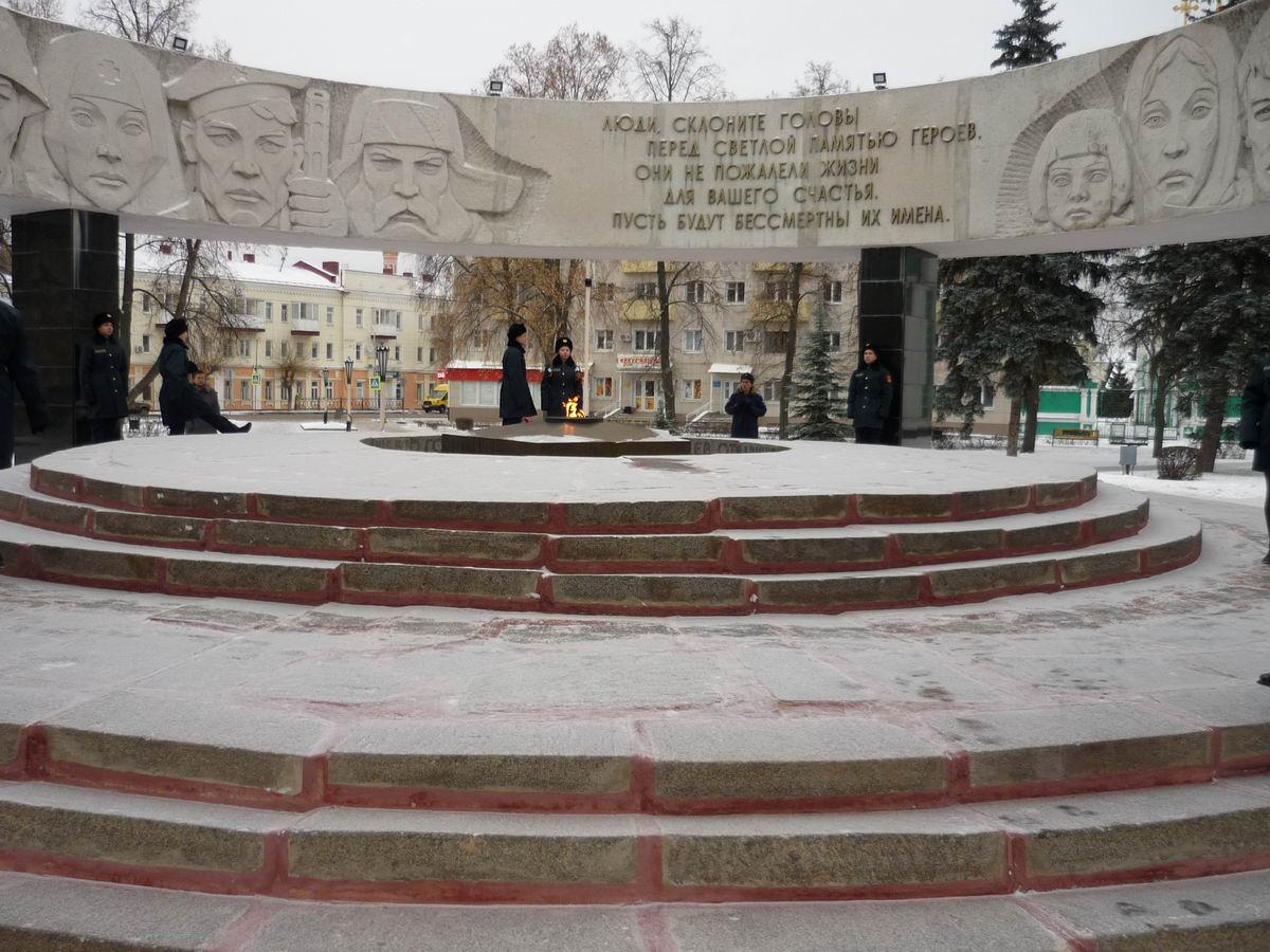 В Тамбове почтили память героев Отечества