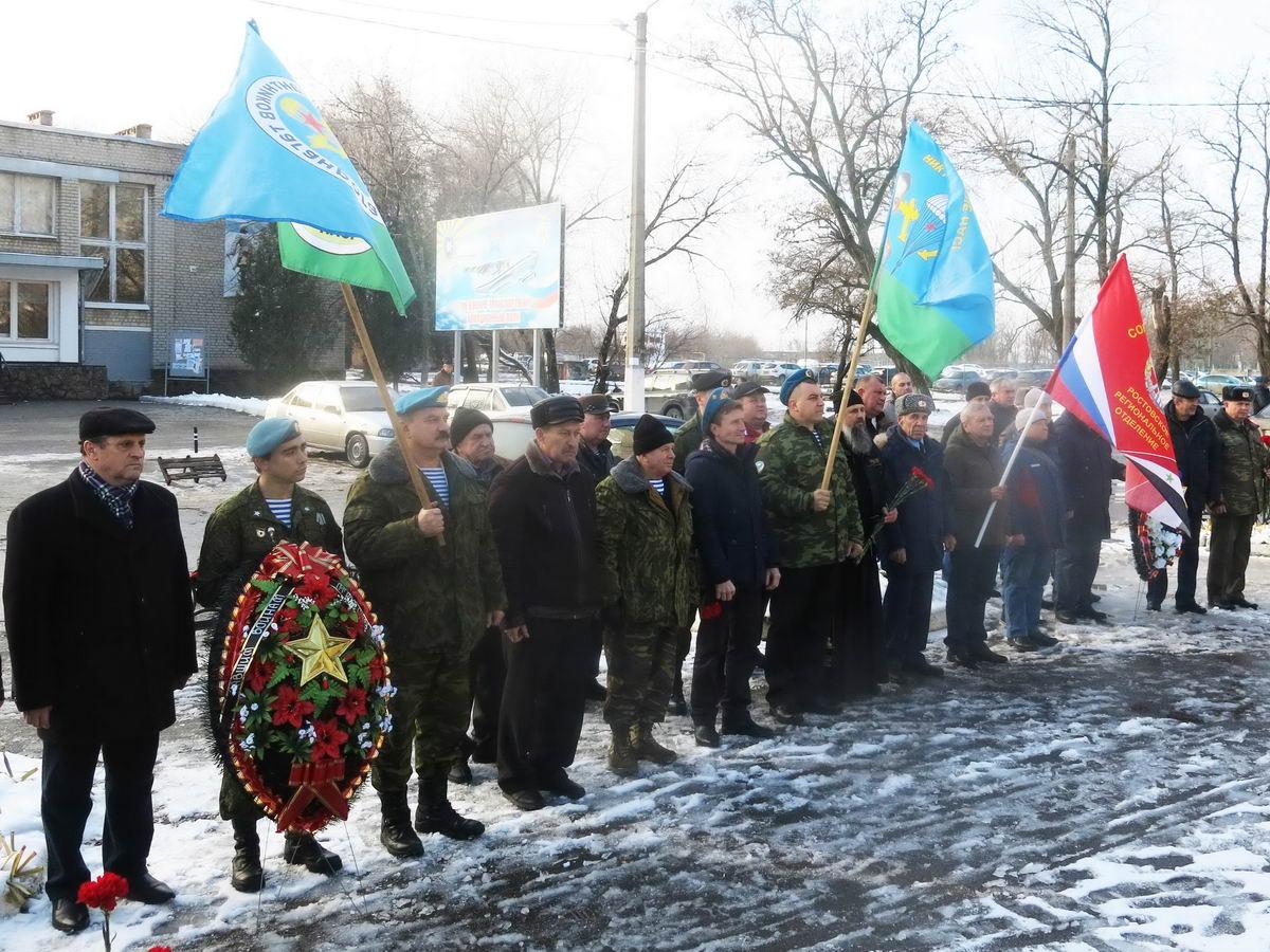 «В Таганроге ветераны-десантники провели День памяти погибших воинов в Чечне!»