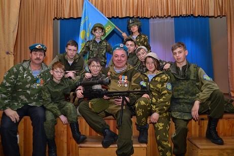 Урок мужества в поселке Маркова Иркутского района