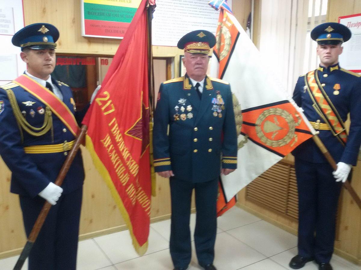 Генерал майор Продченко А.И не забывает свой полк