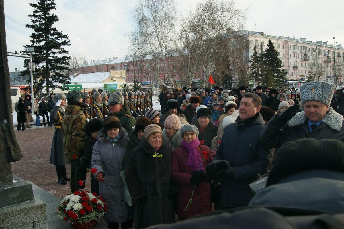 75-летие со дня полного освобождения Ленинграда в Барнауле