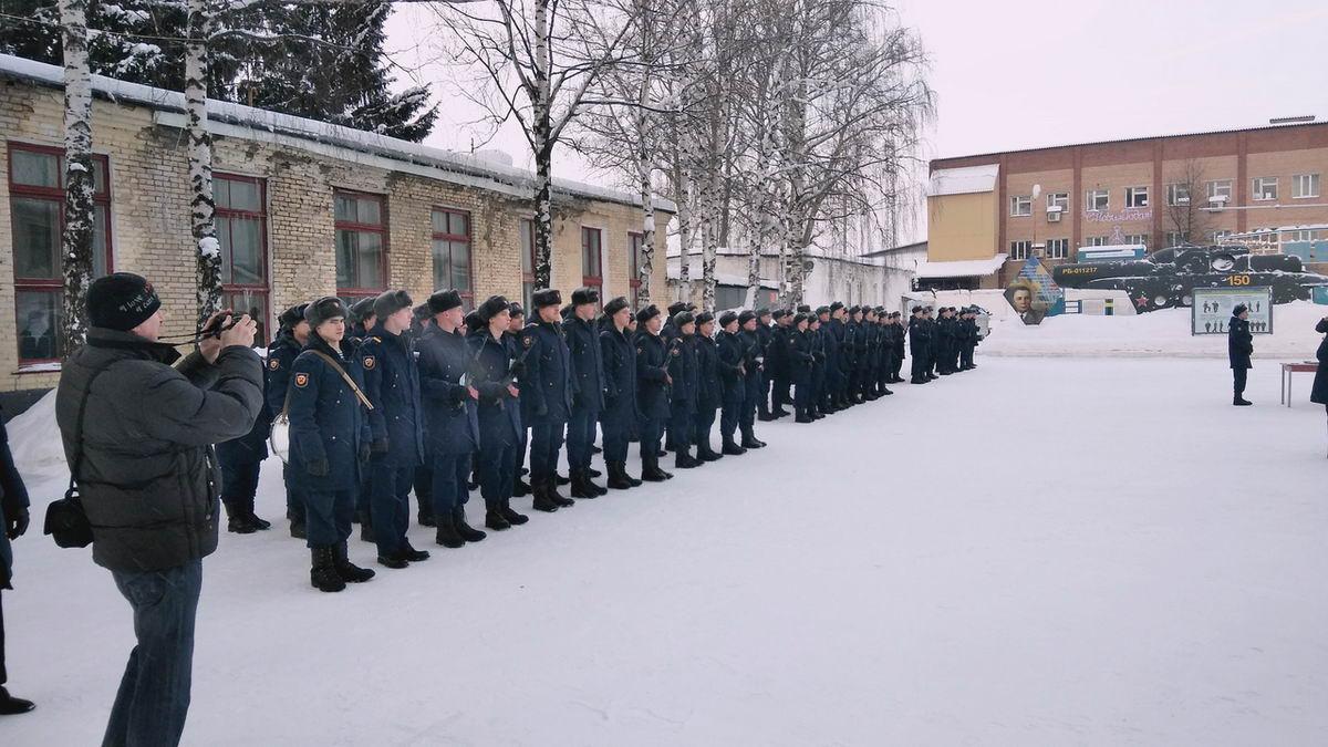 Принятие присяги молодым пополнением 150-го ОРВБ ВДВ России