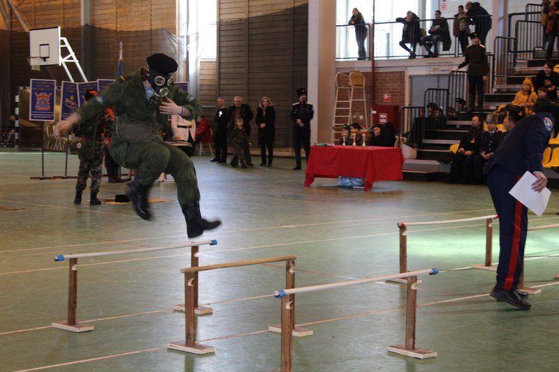23-го февраля, в День защитника Отечества, в Сызранском ФСК «Лидер» состоялись четвертые по счету «Большие казачьи игры» станичного казачьего общества