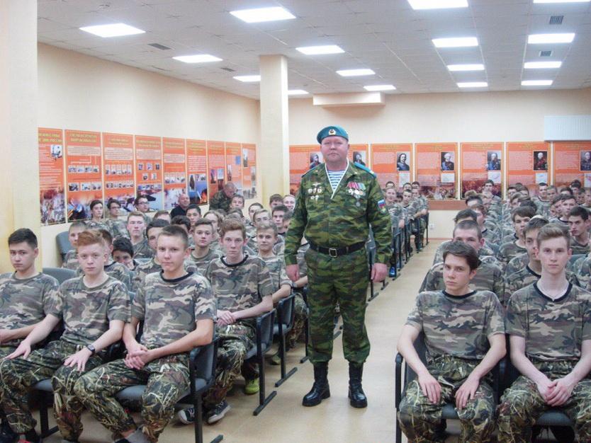 Урок мужества в Центре подготовки граждан к военной службе