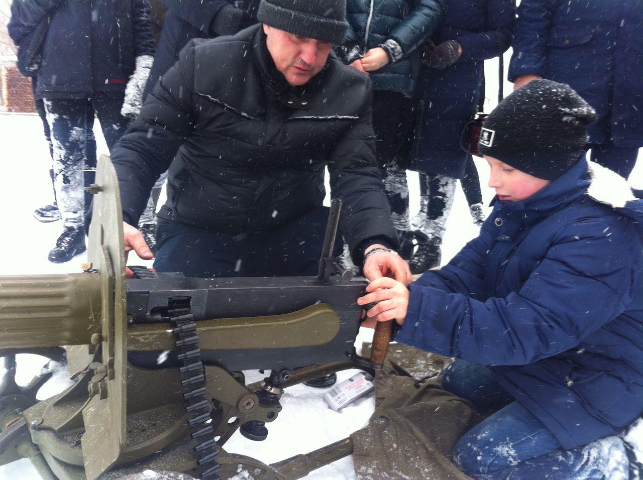 Военно-патриотическая игра «Зарница» в Ульяновске