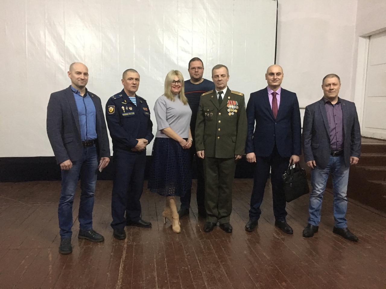 Поздравление десантников 150-го ОРВБ ВДВ России с Днём защитника Отечества