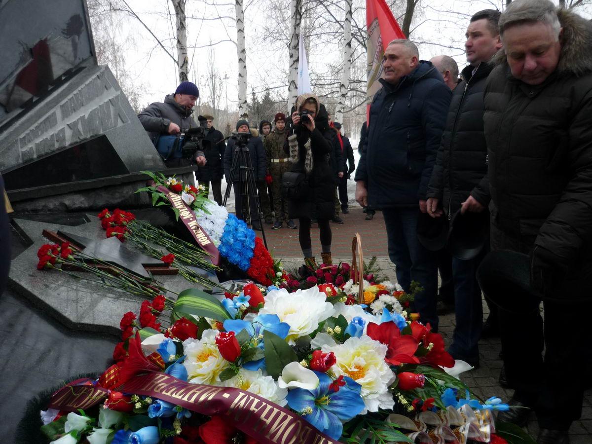 В Тамбове прошёл традиционный митинг по случаю Дня памяти о россиянах, исполнявших служебный долг за пределами Отечества