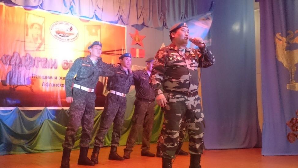 Десантники Тувы стали лауреатами 1 и 2 степеней в республиканском конкурсе песен «Афган сырыны»