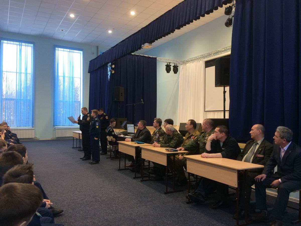 Месячник оборонно-массовой работы в Чувашской Республике