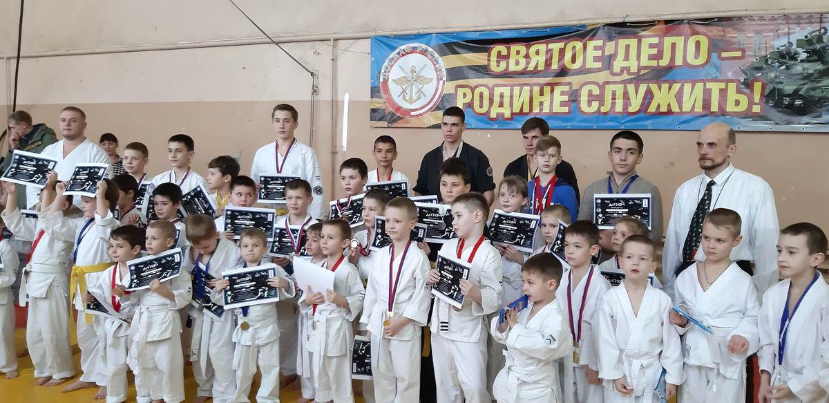 Открытое Первенство города Скопина и Детские соревнования по восточному боевому единоборству