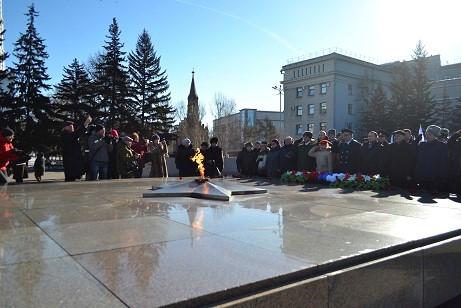 Празднование посвященное Дню Защитника Отечества