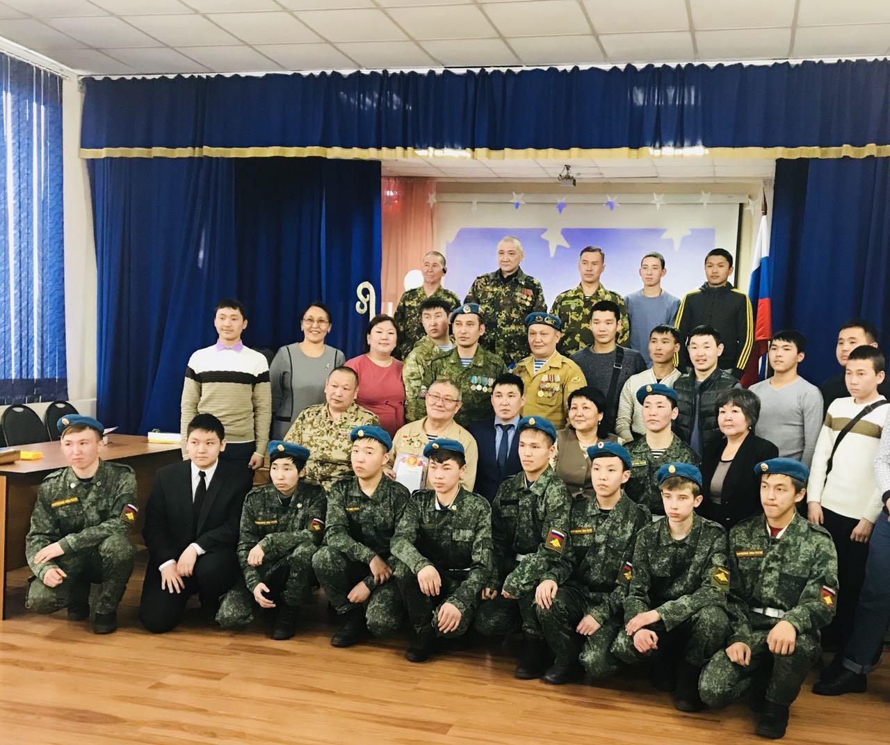 Дню памяти воинов-интернационалистов посвящается…, а также особый жесть приветствия –чолукшууру