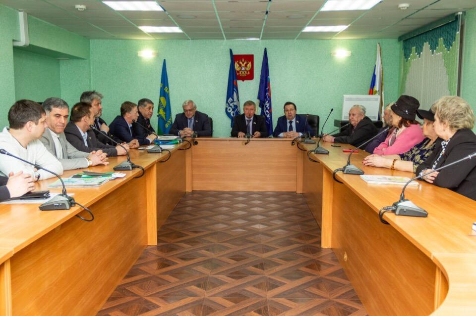 Рабочая встреча с депутатами Областной думы