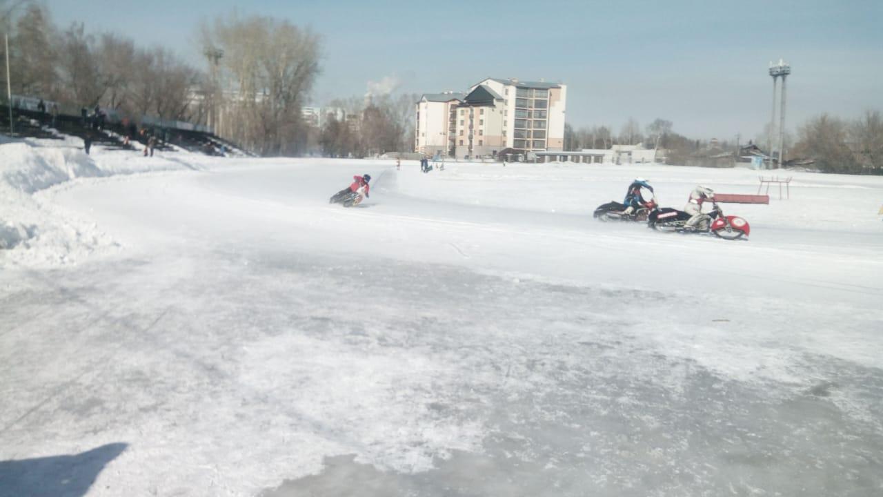 Чемпионат Алтайского края по ледовому спидвею