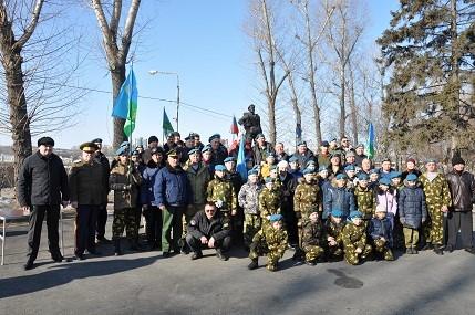 1 марта 2019 года митинг посвященный погибшей 6 роте ВДВ в Чеченской республике