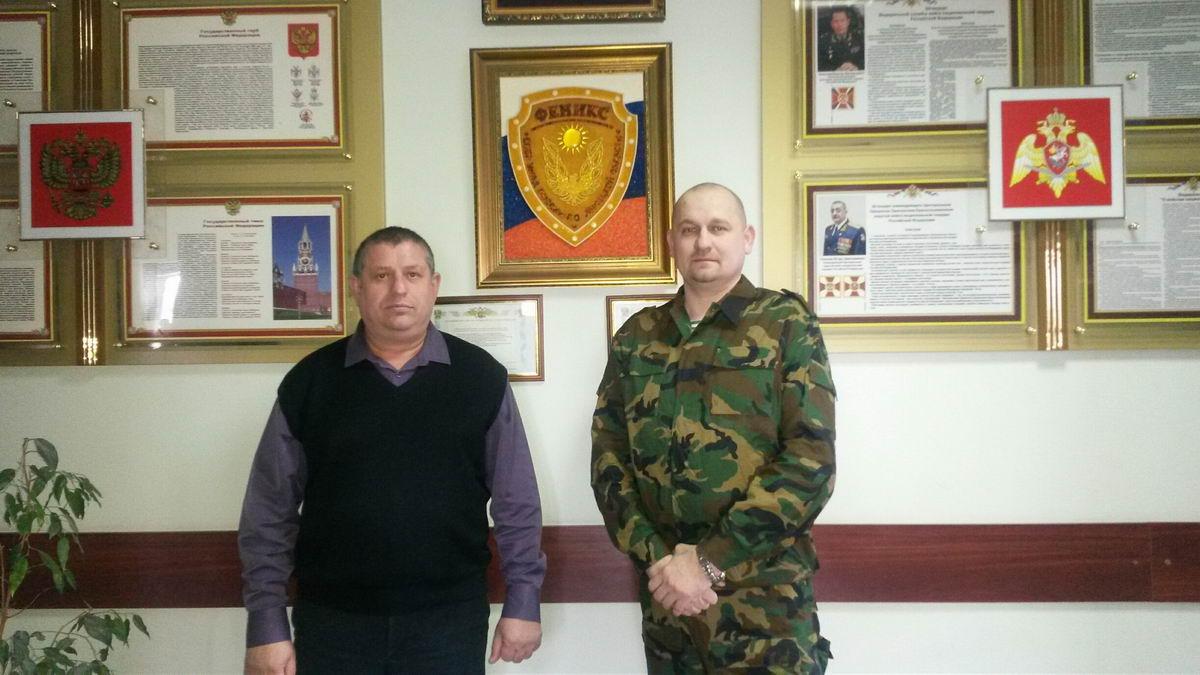 Урок мужества на базе СОБР «Феникс» Управления Росгвардии по Липецкой области
