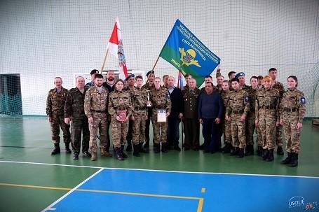 20 марта в Усолье-Сибирском проведена военно-спортивная эстафета