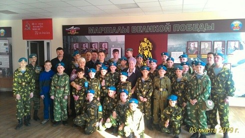 """3 марта выезд в Иркутский городской центр """"Патриот"""""""