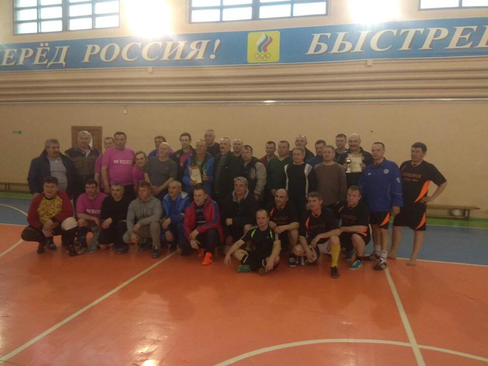 Турнир по футболу в Ивановской области