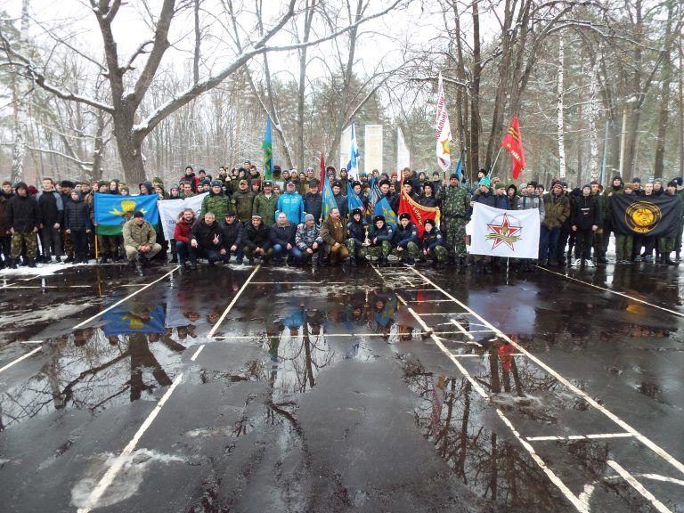 В Тамбове провели Марш - бросок памяти подвига 6 ПДР