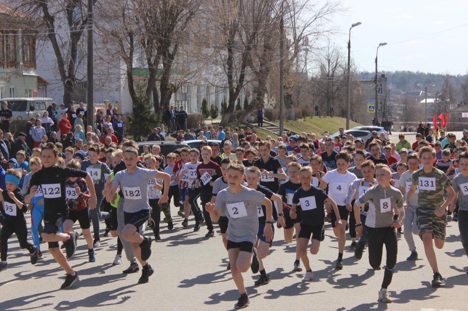 Традиционный легкоатлетический пробег в г. Кинешма
