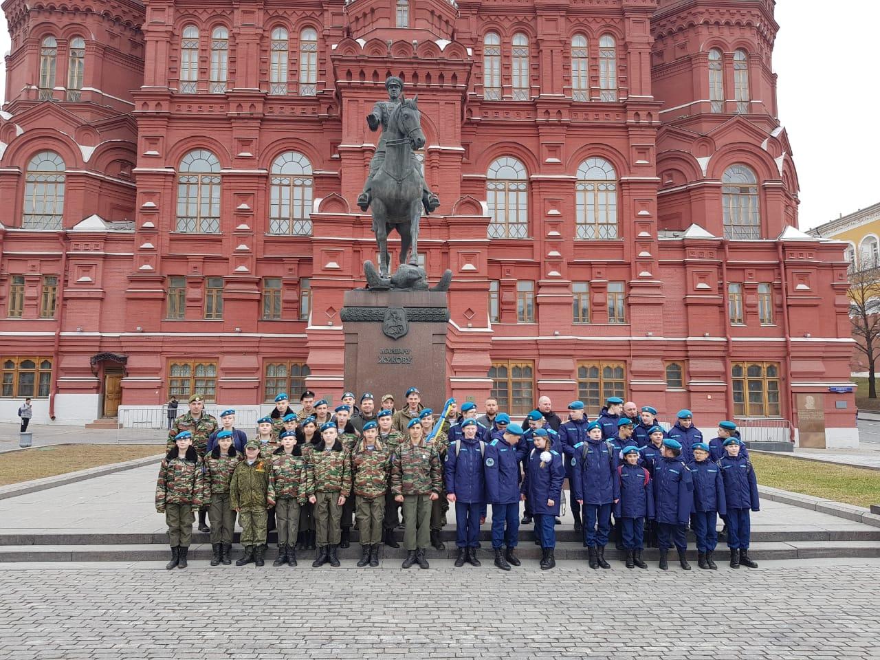 Воспитанники ВПО «СОВА» Почтили память стремительной наступательной операции, десантными соединениями Советской Армии 13 апреля 1945 года