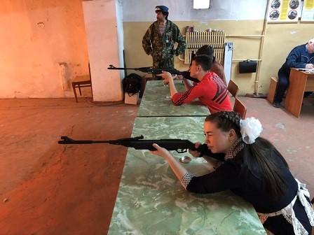 25 апреля 2019 года соревнования по стрельбе из пневматических винтовок
