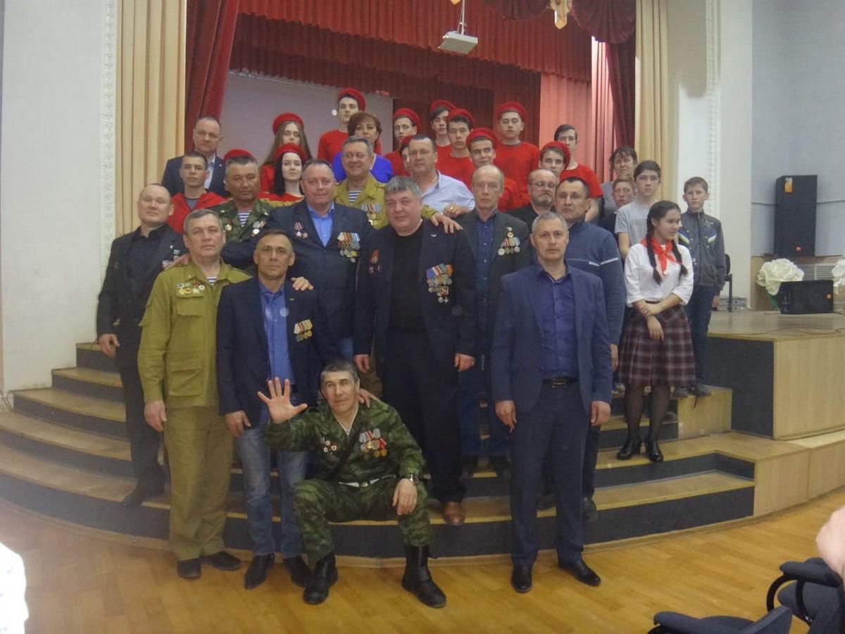 Военно-патриотическое воспитание молодежи - «Союз десантников Чувашской Республики»