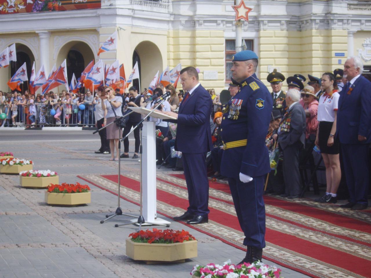 Тамбовщина празднует 74-ю годовщину Победы в Великой Отечественной войне