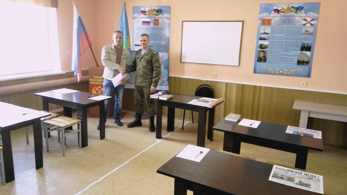 Подарок коллектива ОЗОО «ДЕСАНТНОЕ БРАТСТВО» военнослужащим 150 –го ОРВБ ВДВ России