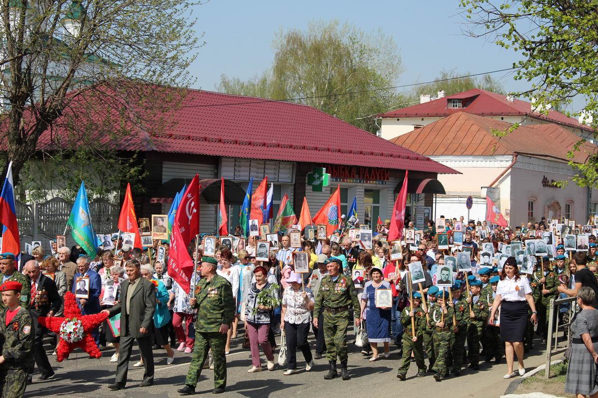 «Бессмертный полк» в Приволжске