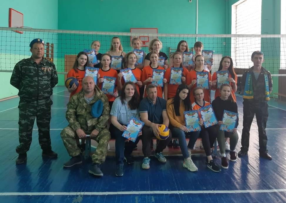 Соревнование по волейболу, посвященное памяти Михаила Юшина