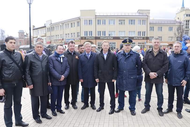 Ивановские десантники преподали кинешемцам урок мужества