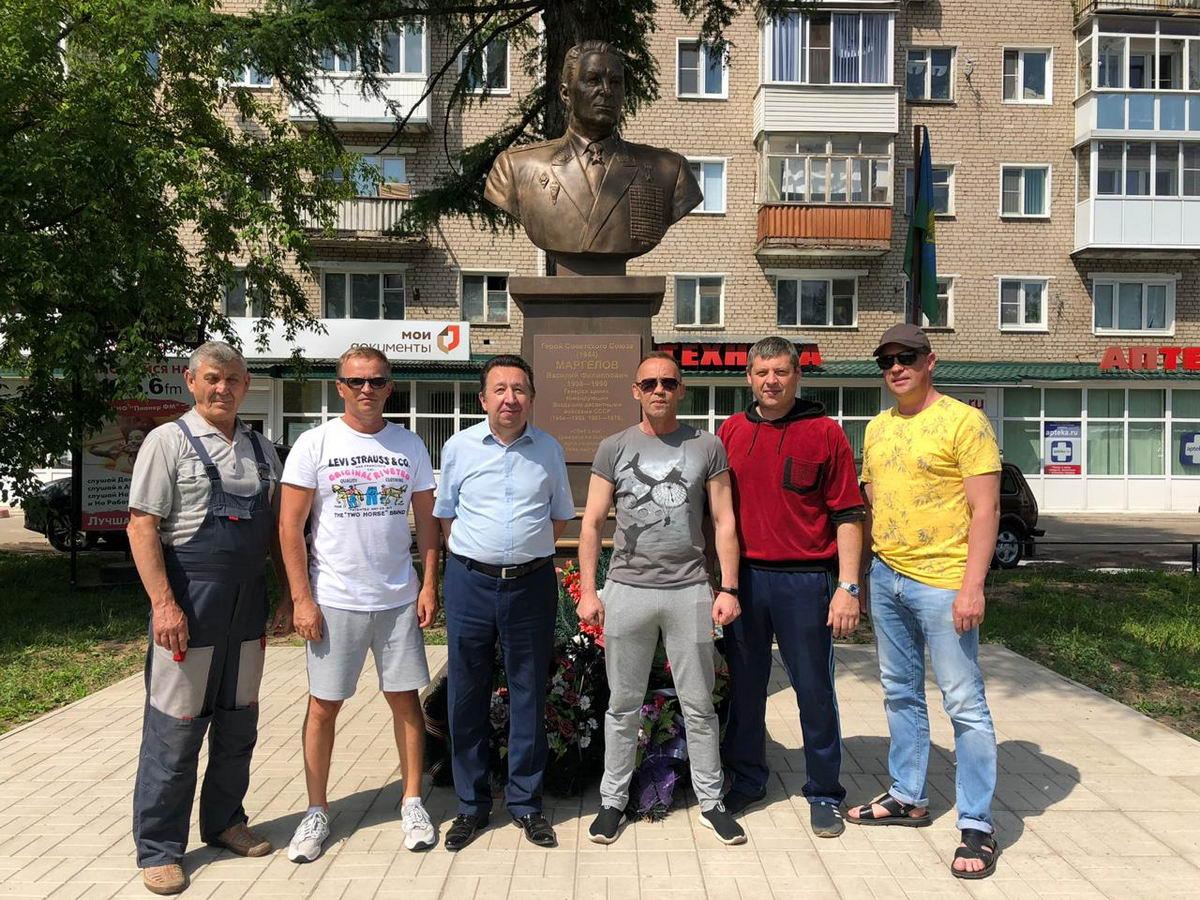 Благоустройство памятника Маргелова в г. Кинешма