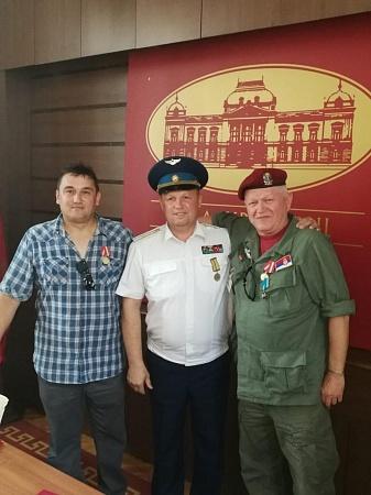 В Сербии встретились ветераны боевых действий Липецка и Крушеваца