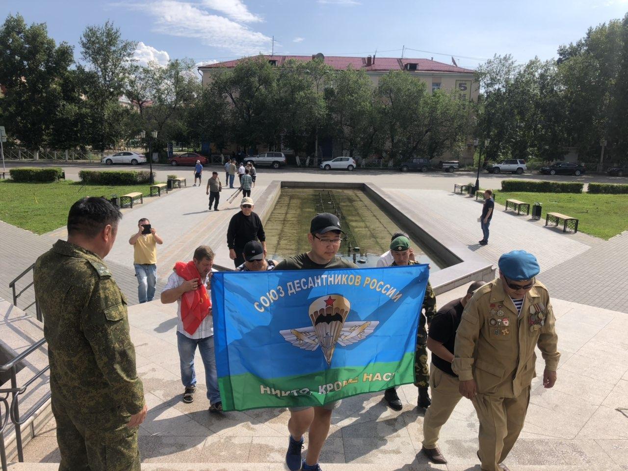 Автопробег ветеранов Афганской войны «Ачинск - Кызыл» прибыл в столицу Тувы
