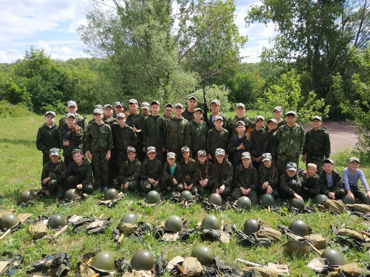 Профильная смена «Резерв ВДВ» в Башкортостане