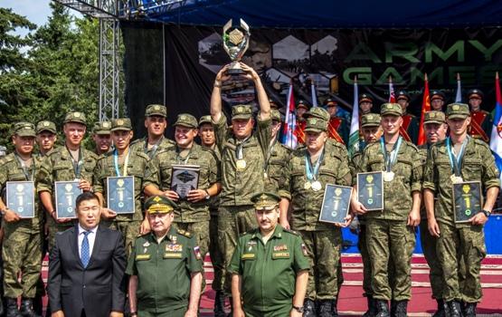 На территории Тувы провели международный этап конкурса «Военное ралли»