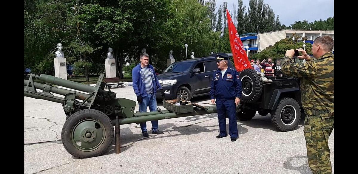 Выставка оружия времён Великой Отечественной войны