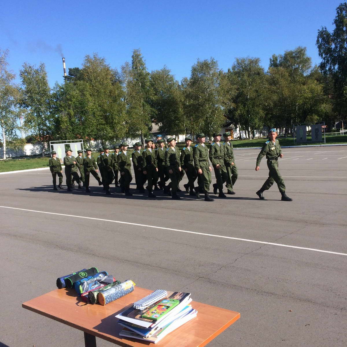 09 сентября 2019 года в г. Усолье-Сибирское стартовала неделя Воздушно Десантной подготовки