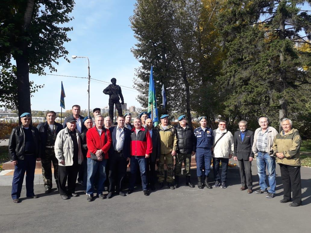 22 сентября 2019 года празднование годовщины установки памятника на площади