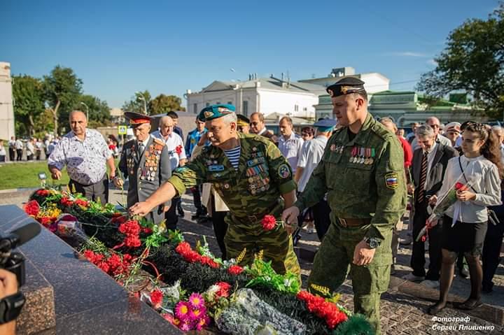 «Союз десантников Таганрога» отметил 76-ю годовщину освобождения Таганрога и Ростовской области от немецко-фашистских захватчиков