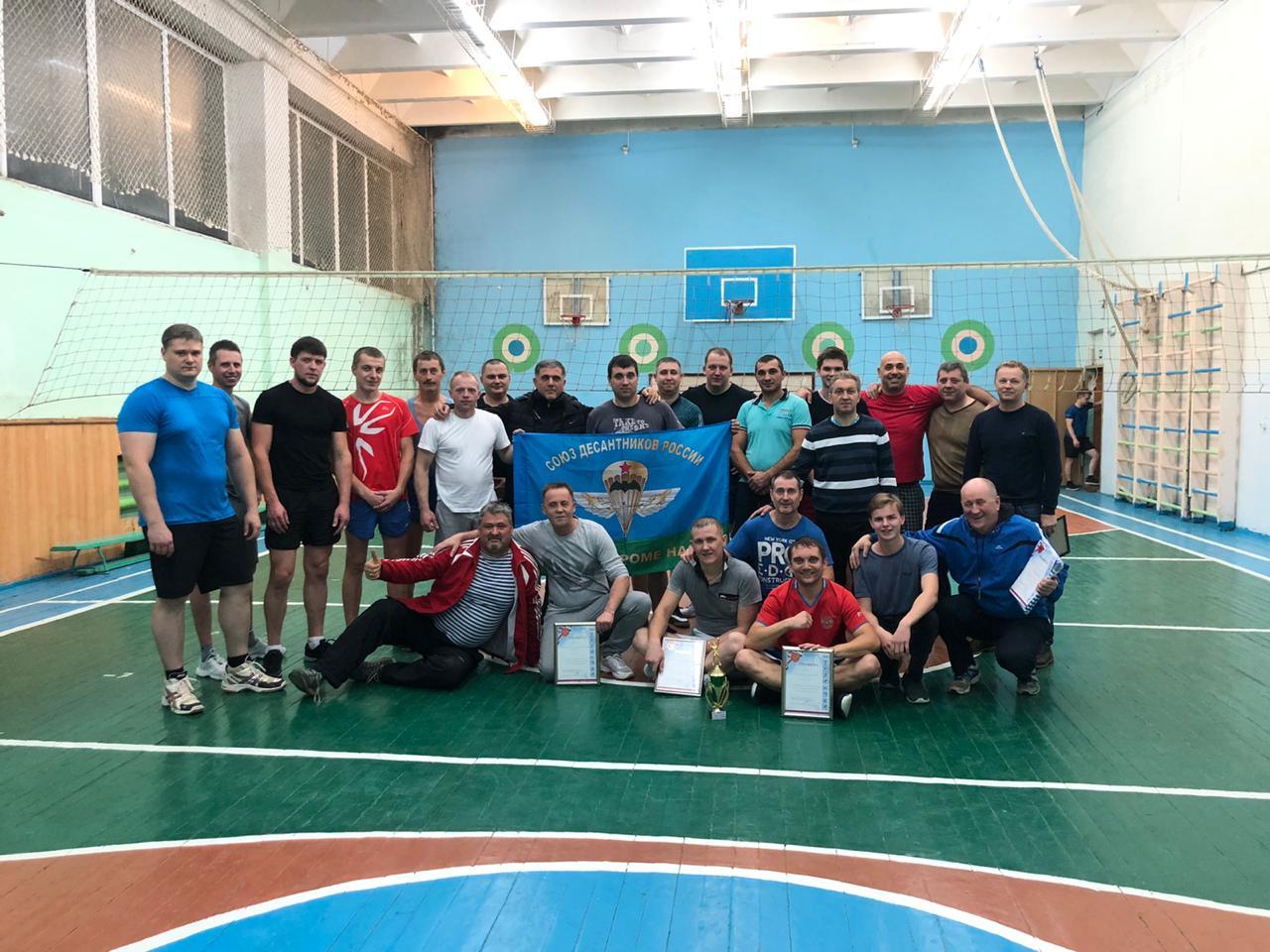 Турнир по волейболу в г. Кинешма