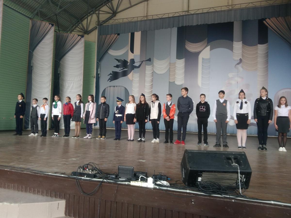 «Посвящение юнармейцев 1-го года обучения городского Военно-Патриотического Центра «ПАТРИОТ» в Таганроге»