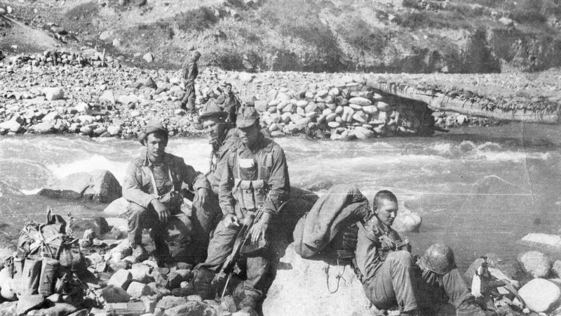 Афганский «знак качества» Валерия Юрьева