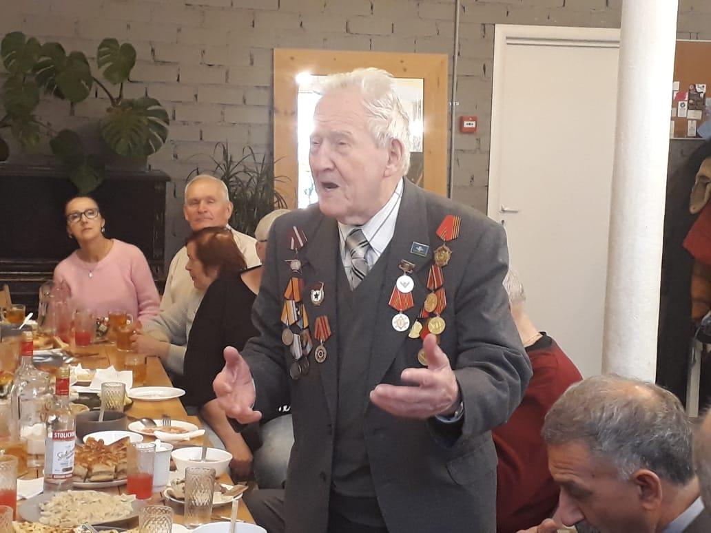Встреча с ветераном ВДВ Котровским Н.С.