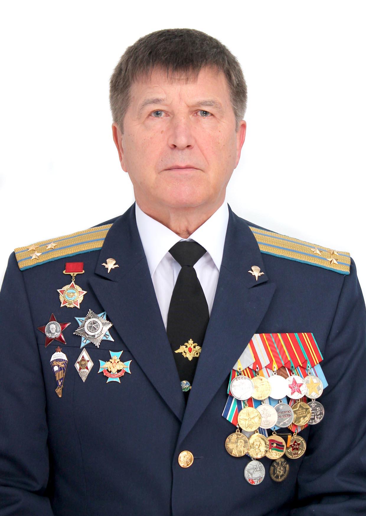 Член Центрального Совета «Союза десантников России» Спиридонов А. Н.