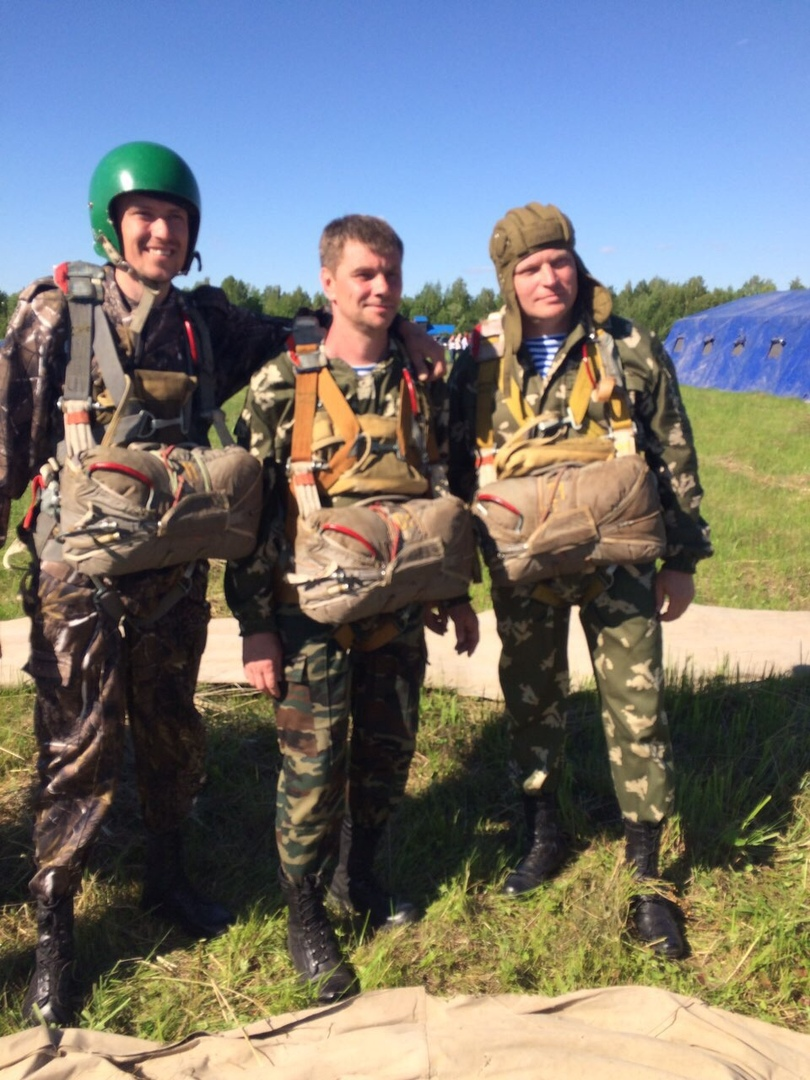 В «Союзе десантников Удмуртии» прибавление - еще на одного «Инструктора парашютно-десантной подготовки» стало больше